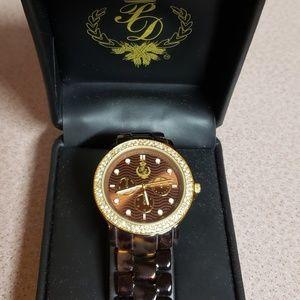 Tortoiseshell watch